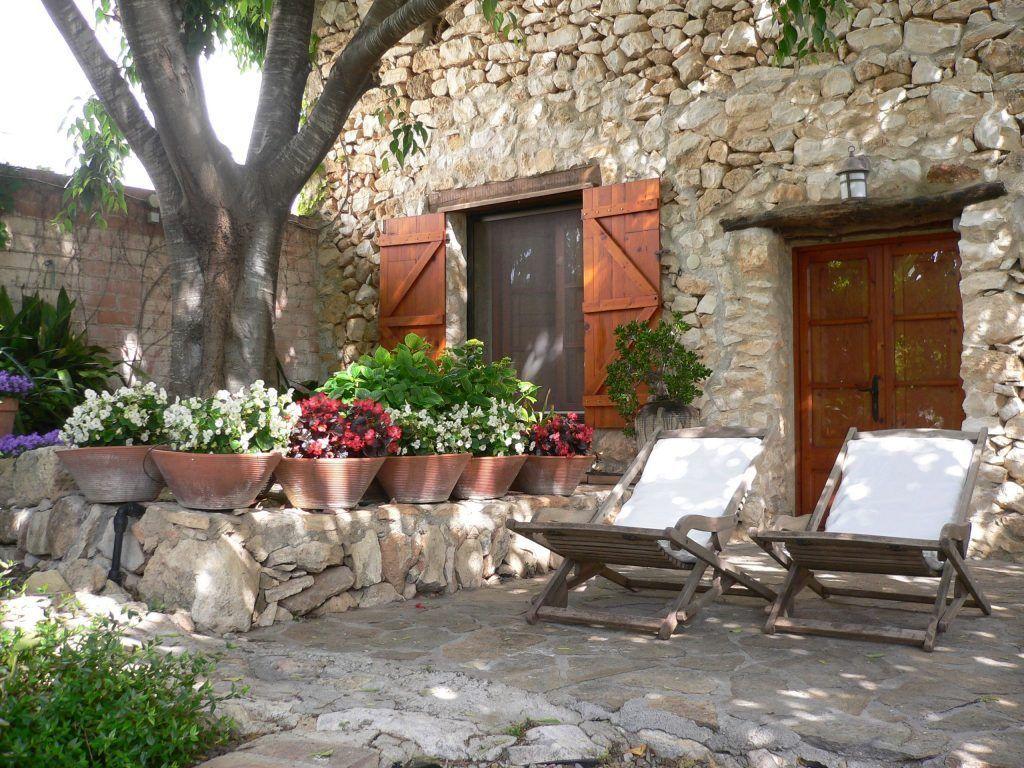 Tumbonas del jardin de la casa rural de la pallissa - Casa rural tarragona
